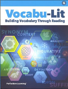 Vocabu-Lit G Student Book (5th Edition)
