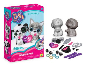 PlushCraft Pawsome Pals (3D Mini)
