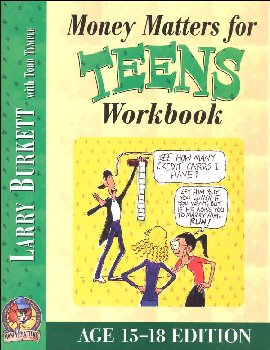 Money Matters for Teens Workbook Ages 15-18