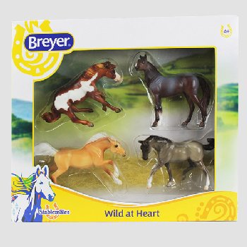 Breyer Stablemates Wild at Heart Horses