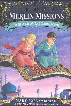 Season of the Sandstorms (Magic Tree House - Merlin Missions #6)
