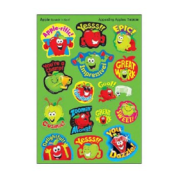 Scratch 'n Sniff Stinky Stickers - Appealing Apples