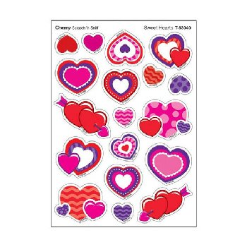 Scratch 'n Sniff Stinky Stickers - Sweet Hearts