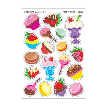 Scratch 'n Sniff Stinky Stickers - Treat Yourself