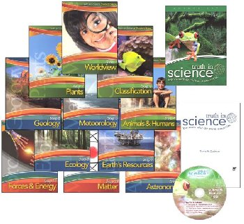 Truth in Science Grade 3 Curriculum Steps Pkg
