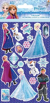 Disney Frozen Elsa Standard Sticker - 4 Sheet