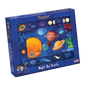 Night Sky (Solar System) Puzzle (48 pcs)