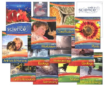Truth in Science Grade 4 Curriculum Steps Pkg