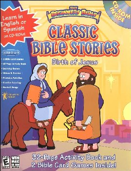 Classic Bible Stories Birth of Jesus Kit w/ CD-ROM (Beginners Bible)