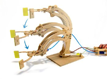 Robotic Arm (Hydraulic Machines)