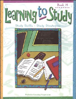 Learning to Study Book H Worktext
