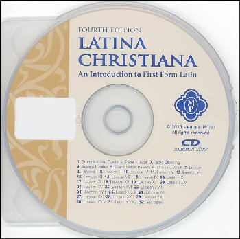 Latina Christiana I Pronunciation CD, Fourth Edition