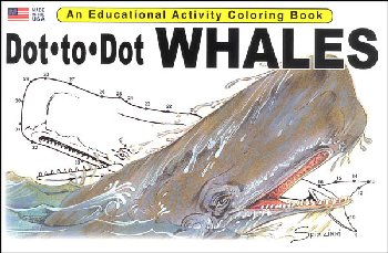Dot-to-Dot Whales Activity Book