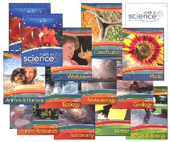 Truth in Science Grade 4 Curriculum Total Pkg