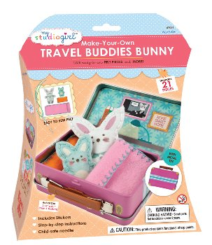 Make-Your-Own Travel Buddies - Bunny
