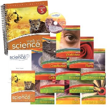 Truth in Science Grade 5 Curriculum Total Pkg