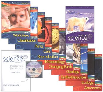 Truth in Science Grade 6 Curriculum Steps Pkg