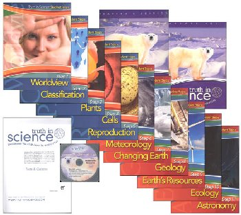 Truth in Science Grade 6 Curriculum Total Pkg