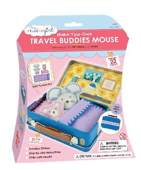 Make-Your-Own Travel Buddies - Mouse