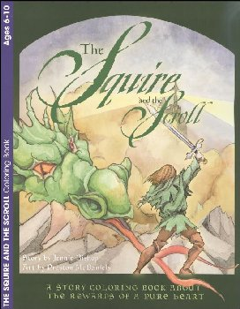 Squire & the Scroll Coloring Book