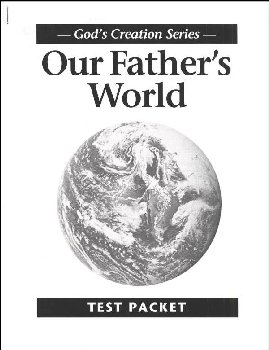 Our Father's World Test Packet (1st Edition)