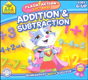Flash Action Software Addition/Subtraction