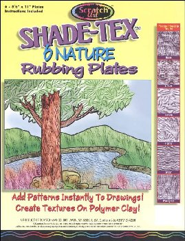 Shade-Tex Nature Rubbing Plates