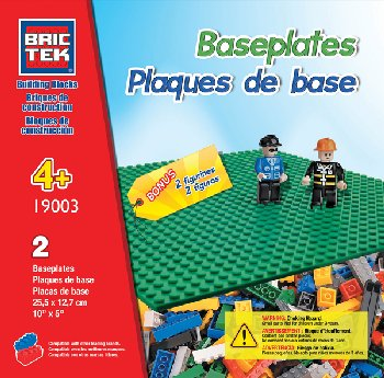 Baseplates (4 Pieces) for all bricks