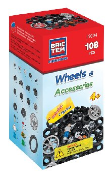 Wheels Kit (108 Pieces) - Brictek