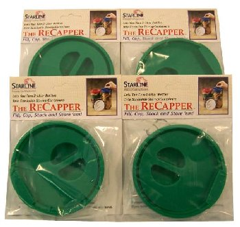 Re-Capper Set of 4 green