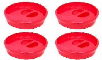 Re-Capper set of 4 red
