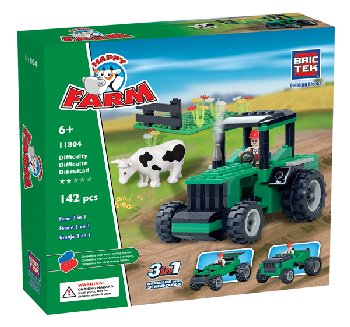 Farms 3 in 1 (142 Pieces)