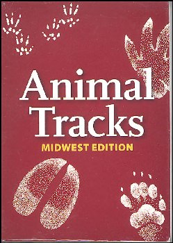 Animal Tracks of the Midwest Playing Cards