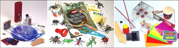 Home Science Adventures Complete Set II (Microscopic/Insects/Light)