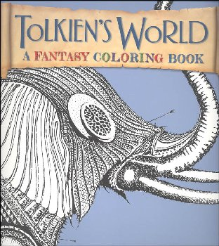 Tolkien's World: Fantasy Coloring Book