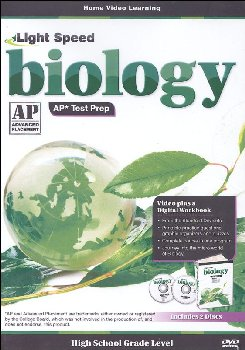 Light Speed Biology Advanced Placement Test Prep DVD