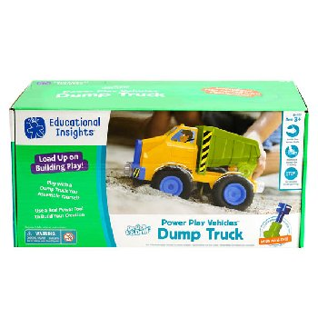 Design & Drill Power Play Vehicles: Dump Truck