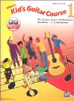 Alfred's Kid's Guitar Course 1 Book w/ Online Access
