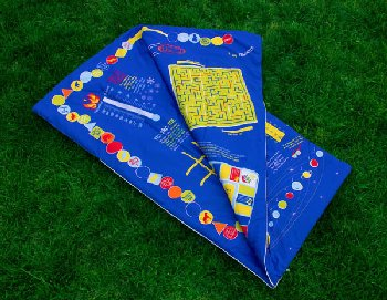 Playtime Reversible Slumber Bag - Blue