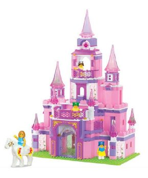 Princess Castle - Girl's Dreams (472 Pieces) (Sluban Building Set)