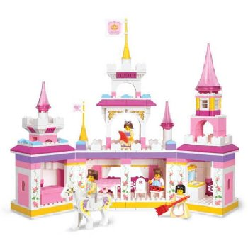 Princess Magical Castle - Girl's Dreams (385 Pieces) (Sluban Building Set)