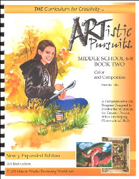 ARTistic Pursuits Middle School Gr 6-8 Book Two 3rd ed - Color and Composition