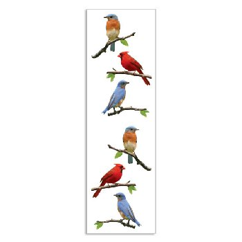 Birds Stickers - 1 package (3 sheets)