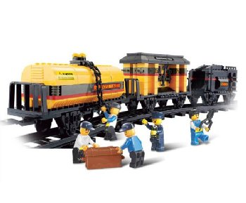 Special Train - Railway Station (328 Pieces) (Sluban Building Set)