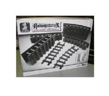 Train Tracks - Railway Station (24 Pieces) (Sluban Building Set)