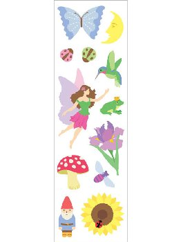 Fairy Fantasy Stickers - 1 package (3 sheets)
