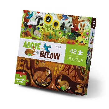 Above + Below Puzzle - Backyard Discovery (48 pieces)