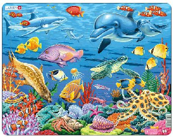 Coral Reef Puzzle (35 pieces - Maxi)