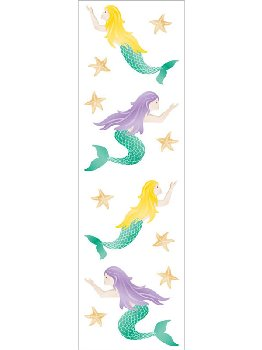 Mermaids, Sparkle Stickers (2 sheets)