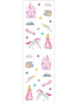 Princess Petite Stickers (2 sheets)